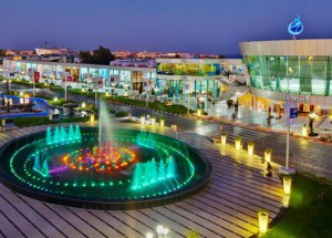 Площадь Сохо в Шарм эль Шейхе