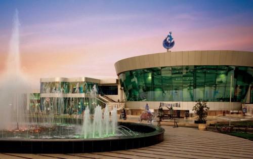Кинотеатр Culturama на площади Сохо в Шарм  эль Шейхе