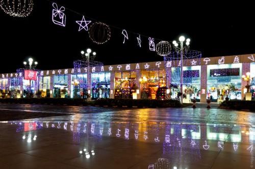 Площадь Сохо в Шарм эль Шейхе на Новый год