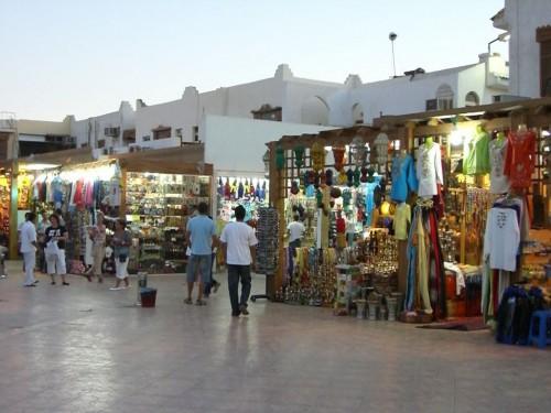Рынок в Старом городе Шарм эль Шейх