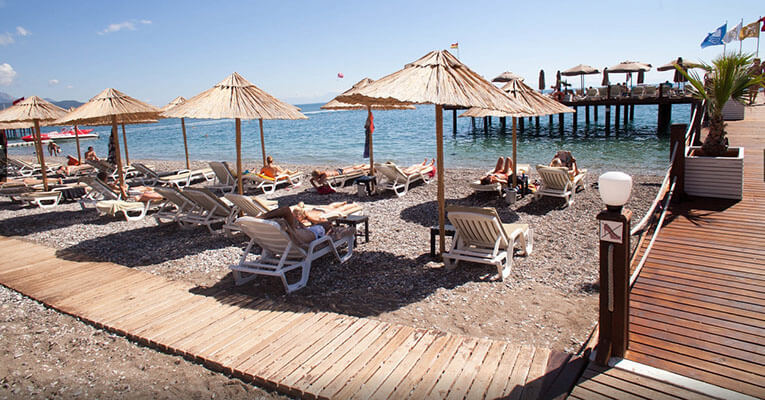 Amara Wing Resort Comfort 5 Kemer Hotel Beach 3