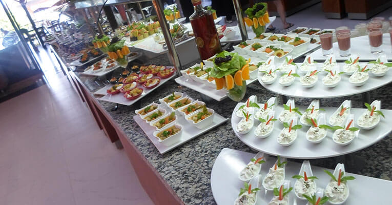 Crystal Flora Beach Resort 5 Hotel Kemer Food 3