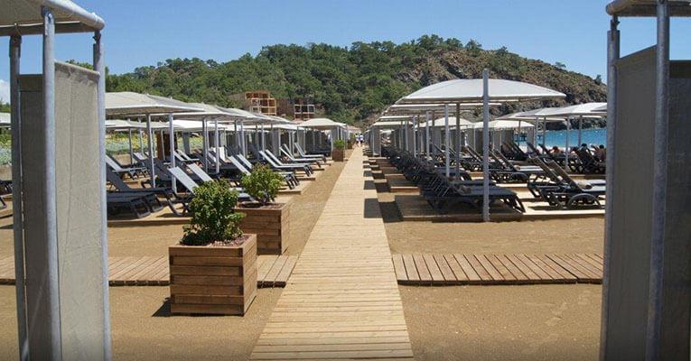 Rixos Premium Tekirova 5 Kemer Hotel Beach 2