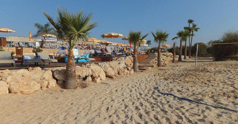 Asterias Beach Hotel 4 Beach 2