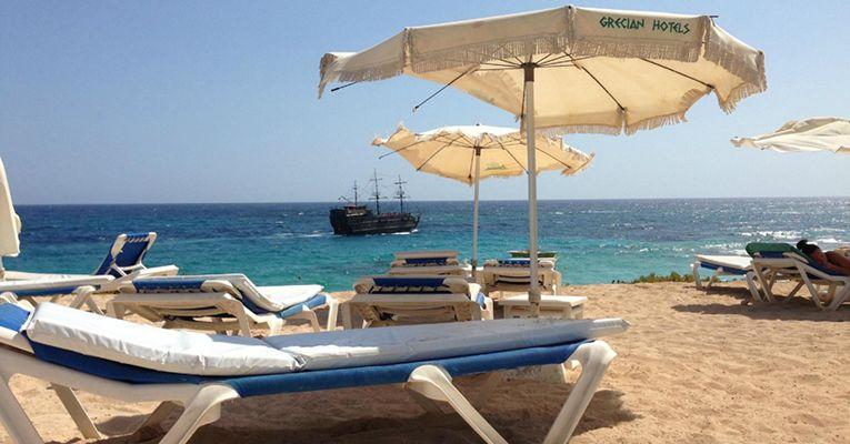 Grecian Sands Hotel 4 Aiya-Napa Beach 1