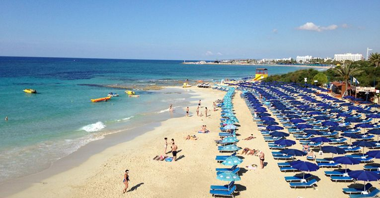Grecian Sands Hotel 4 Aiya-Napa Beach 2