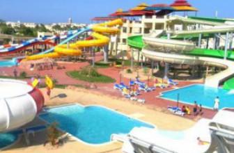 Отели в Макади Бей с аквапарком – семейный отдых на 5+