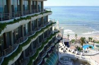 Отели Аланьи 4* для отдыха на первой береговой линии в Турции