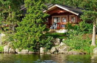 Снять коттедж для отдыха в Финляндии