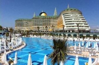 Лучшие отели Лара 5 звезд в Анталии – спокойный отдых