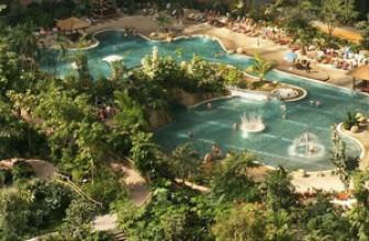 Аквапарк «Тропические острова» в Берлине